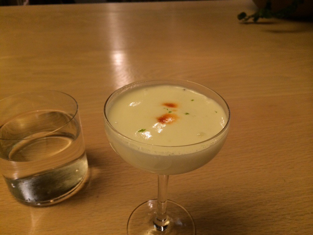 Hot and Cold Pisco Sour