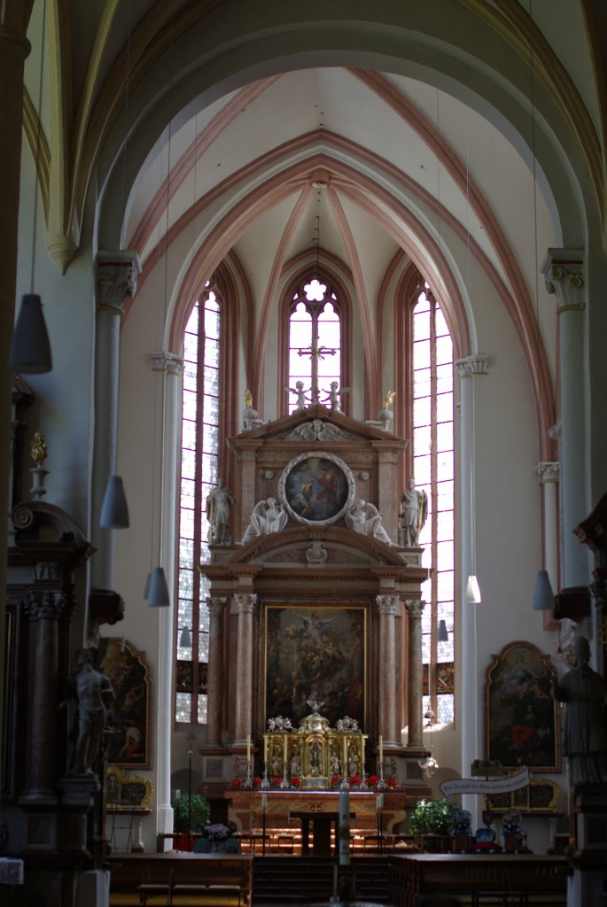 St. Peter and Johannes the baptist