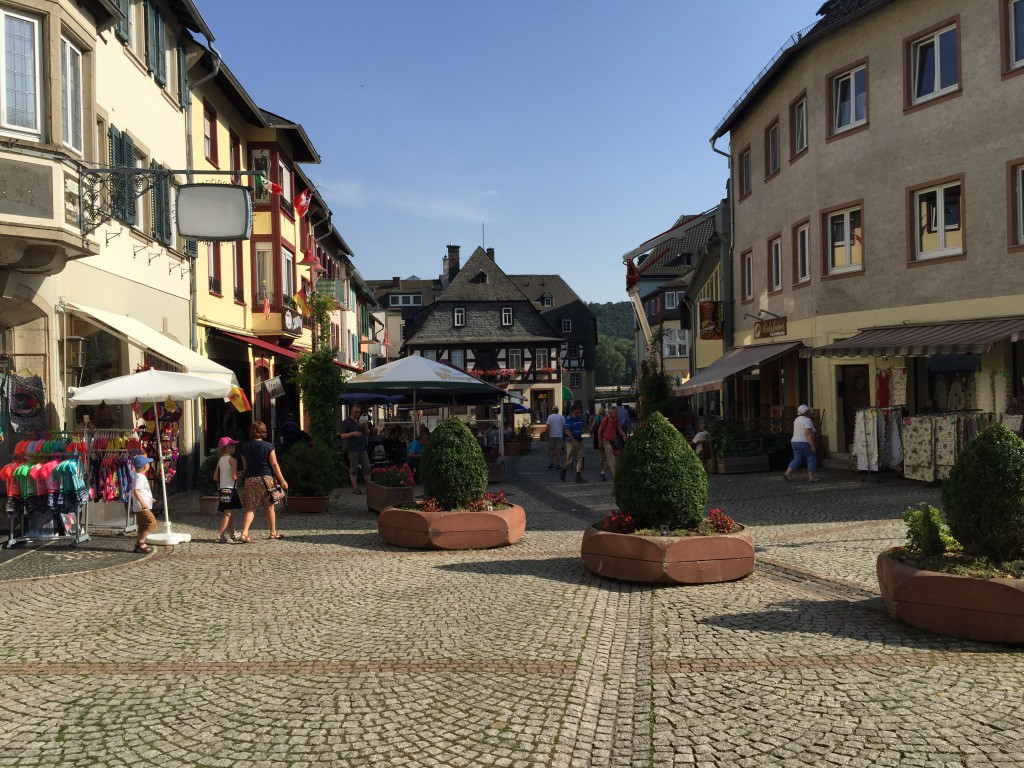 Rüdesheim city center