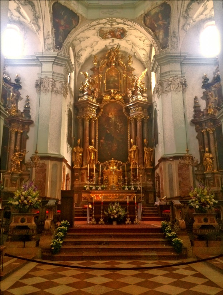 St.Peter's church in Salzburg