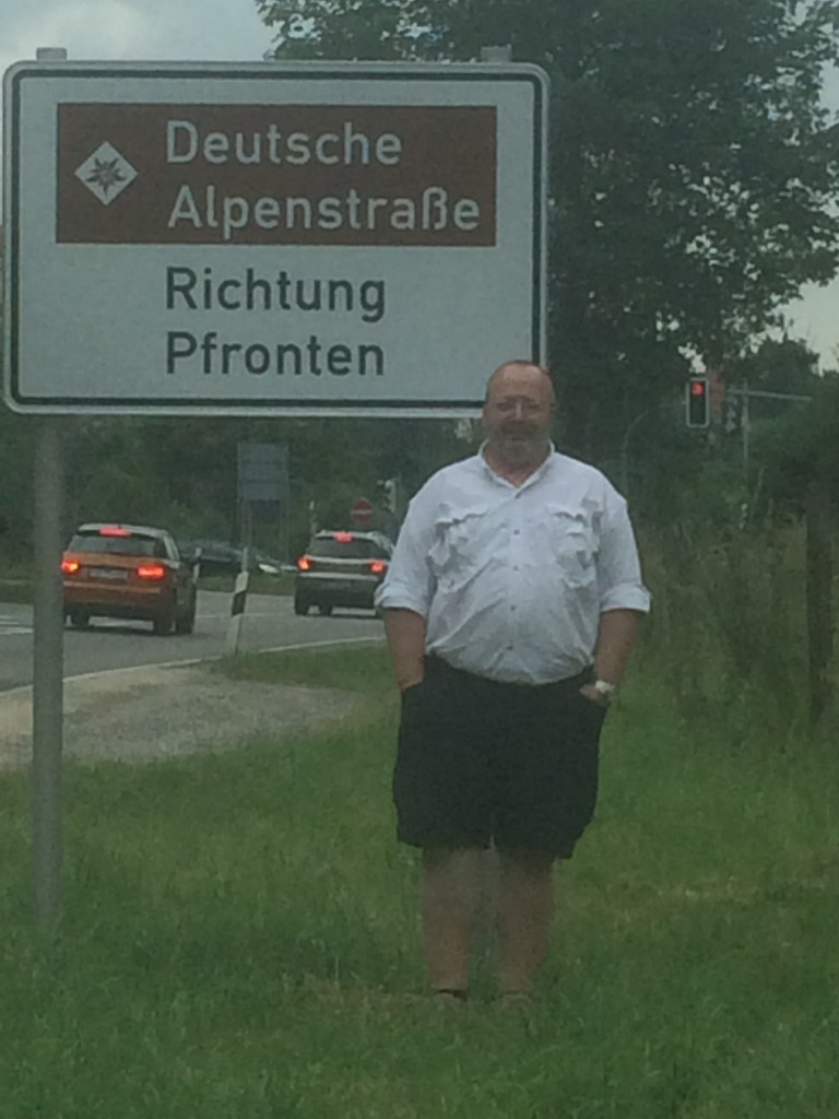 Me and Deutsche Alpenstrasse