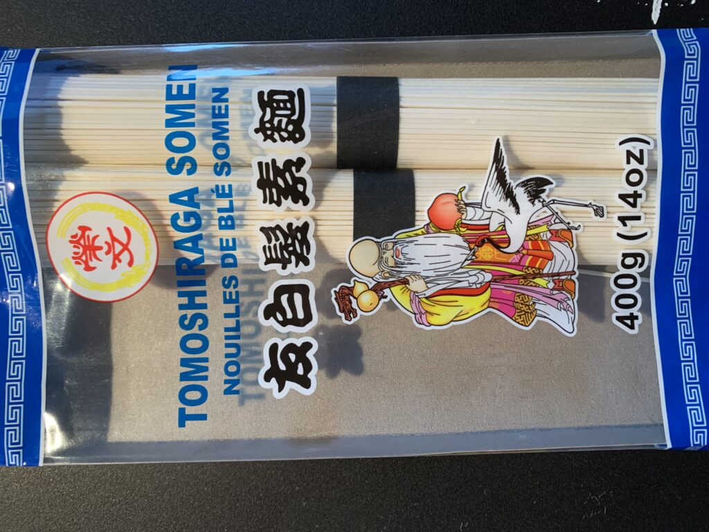 tomoshiraga somen (noodles)